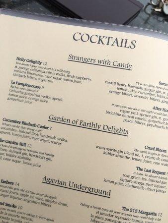 515 Kitchen and Cocktails, Santa Cruz - Menu, Prices & Restaurant ...