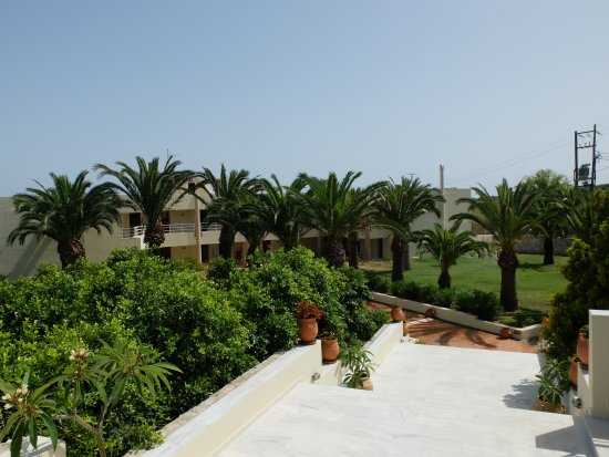 Hotel Eleftheria: gardenview, in the front building 1