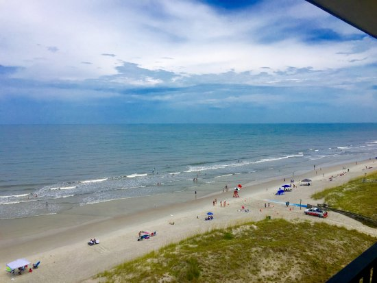 Atlantic Beach, FL: View from our 8th floor Balcony