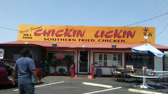 Hardeeville, ساوث كارولينا: Chicken Lickin' Hickory House