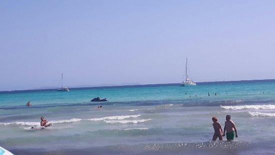 Campos, Spain: Playa de Sa Rapita
