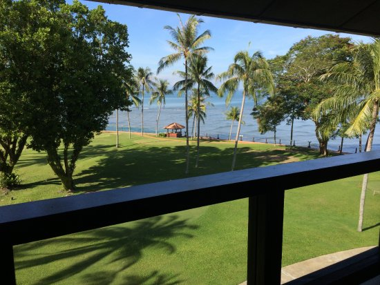 Shangri-La's Tanjung Aru Resort & Spa: View from my room