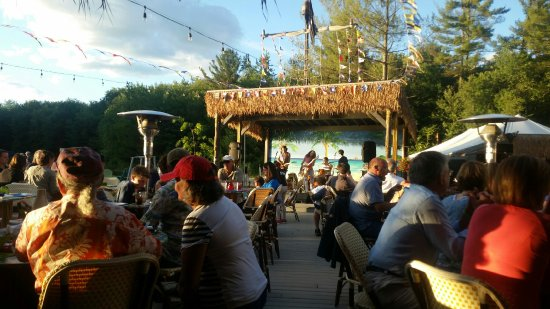 Sunset Tiki Bar Live Music Stage