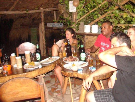 Balgue, Nicaragua: noche en el bamboo