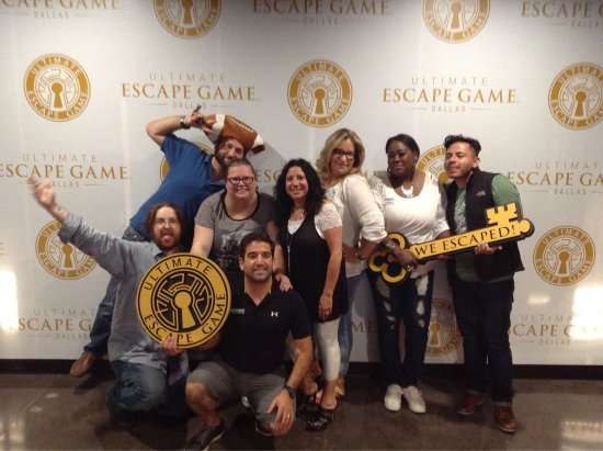 ‪Ultimate Escape Game Dallas‬