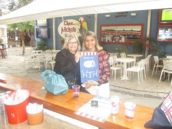 Pousada Cantinho de Geriba: Chez Michou - crepes maravilhosos e ainda vendem um pote de vidro com o chocolate usado no crepe