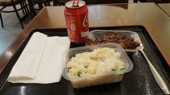 goo sushi: Riz cantoné et poulet croustillant du chef