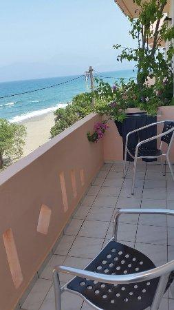 Alexander Beach Hotel: Zimmer mit tollem Ausblick