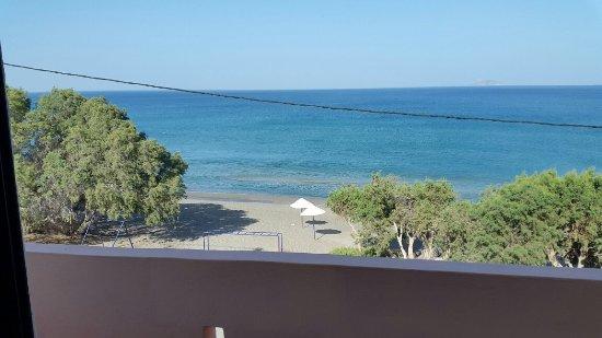 Kalamaki, Griechenland: Zimmer mit tollem Ausblick
