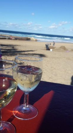 Marina Beach, Sydafrika: Right on the beachfront
