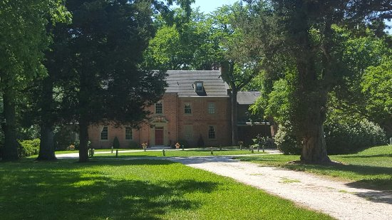 Chestertown, MD: View of Great Oak Manor driveway