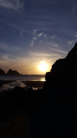 Holywell Bay Beach