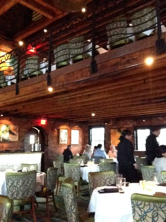 View Of Chart House Boston Dining Room Tasteful Decor