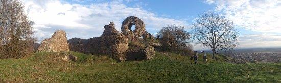 Thann, Γαλλία: Petite vue panoramique