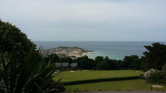 Tregenna Castle Resort: View from Room 128