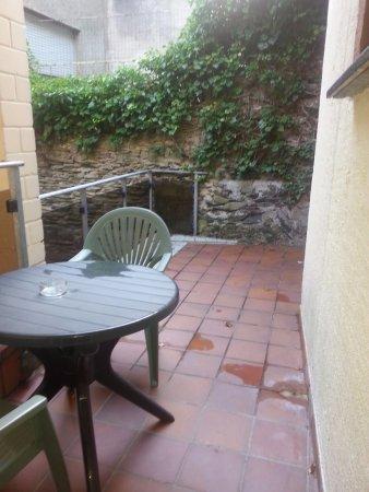 B&B Auberge du Chateau: terrasse chambre 4
