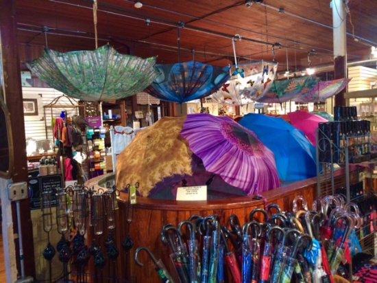 Natchitoches, لويزيانا: Umbrellas of Kaffie-Frederick!