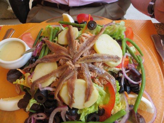 Restaurant Les bles d'or : Salad nicoise