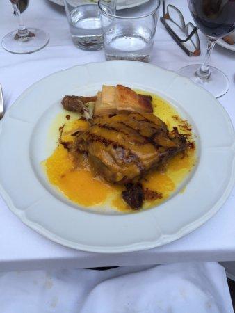 Cafe De L'Academia: Duck confit with onion and orange glaze