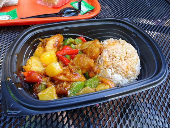 Honey Chicken Stir Fry - Picture of Yak & Yeti Local Food Cafes ...