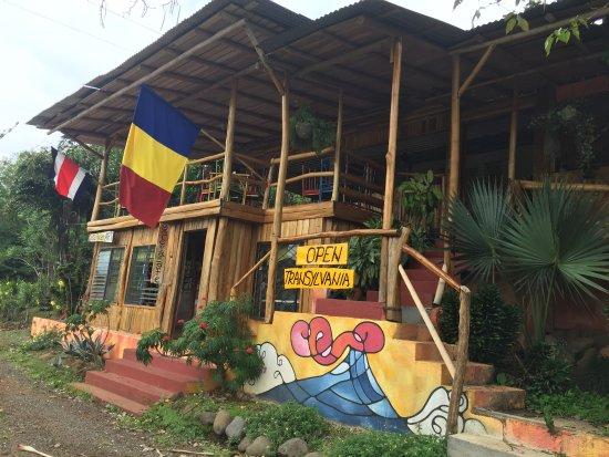 Tilarán, Costa Rica: Front view