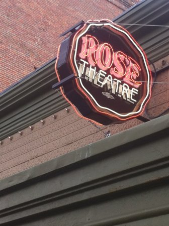 Rose Theatre: Can't miss the location