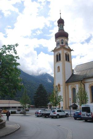 Fulpmes, Austria: Fulmpes town square