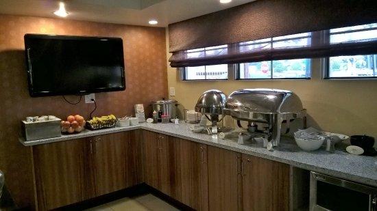 Ivy Hotel Napa: Café da manhã