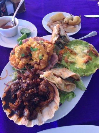 Los Arcos Restaurant: Shrimp Fest!