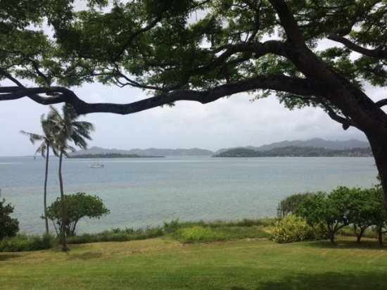 Kaneohe, Χαβάη: View from one side of the park.