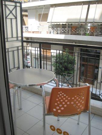 Philippos Hotel: Balcony