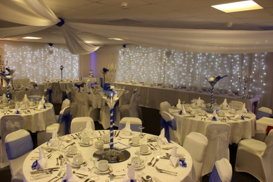 Stranraer, UK: Wedding Set Up in Function Room