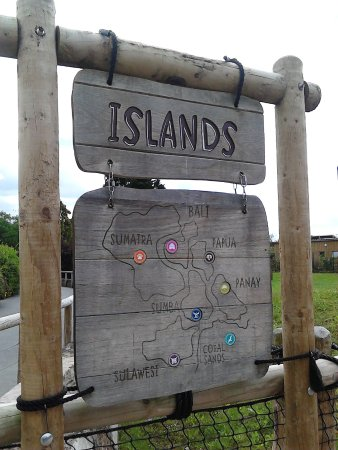 Chester Zoo Islands Map
