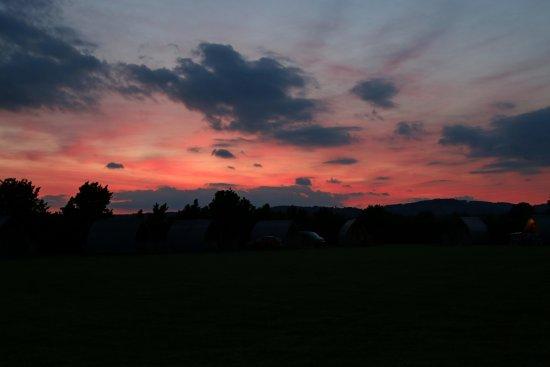 Westbury on Severn, UK: Campsite grounds