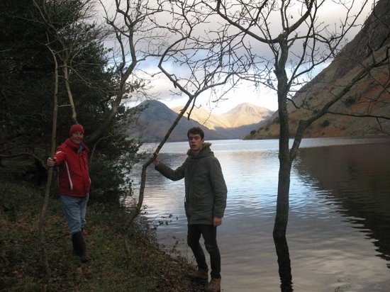 Bower House Inn: Wastwater...George with me