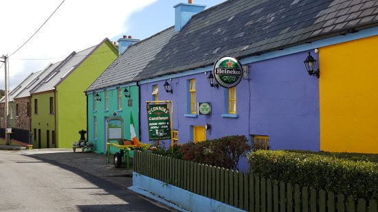 Cloghane, Irlanda: This is a view of O'Connor's Guesthouse.