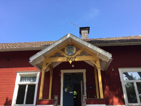 Uppsala County, Sweden: Main entrance.