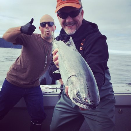 Craig, AK: Omg!   We had a blast l, caught a ton of fish, hit our limits every day.   The staff and lodge w