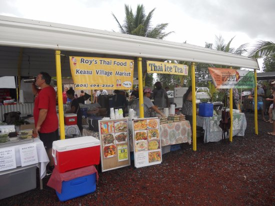 Pahoa, HI: many food vendors