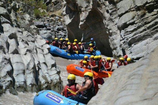 Chile Rafting Cajon del Maipo