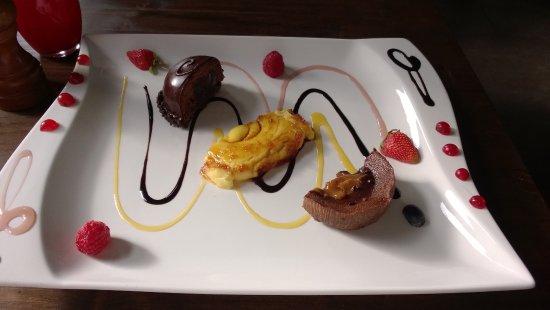 Dornum, Tyskland: Dessert