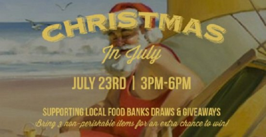 Surrey, Canadá: Christmas In July At JRG Public Houses