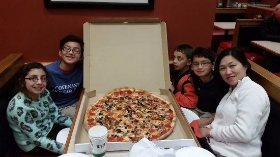"Tony's Pizza: 24"" 5 topping pizza"