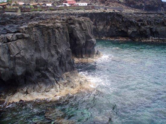 Punta Grande Hotel: acantilados que se ven desde la terraza