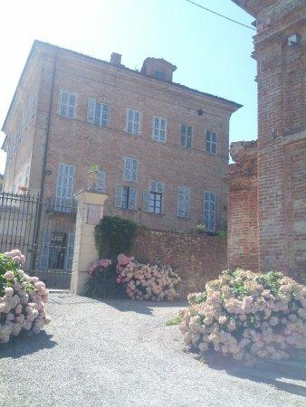 La parte residenziale del Castello di Brusasco