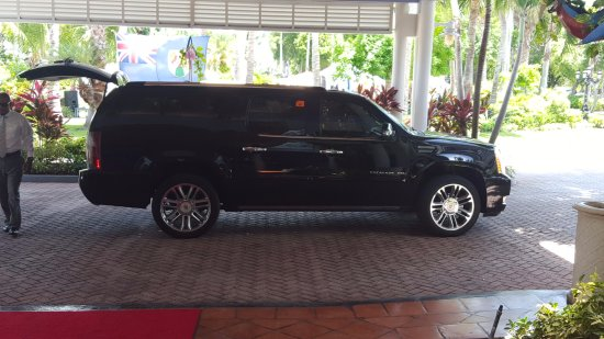 Platinum Express Escalade Pick Up From Resort Picture Of