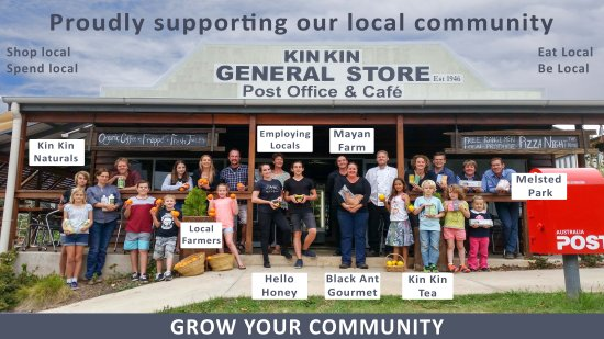 Kin Kin, Australien: Supporting Local Businesses