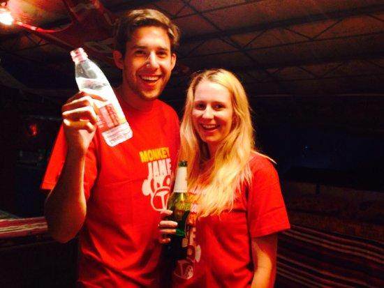 Monkey Jane's Guesthouse: Beer pong winner!!