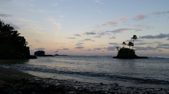 Seabreeze Resort: Seabreeze sunset