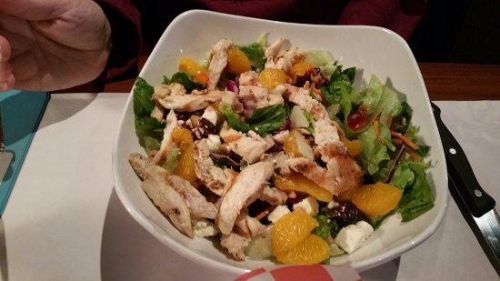 Adrian, MI: Cranberry Chicken Salad at Garfield's